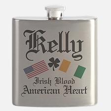 Cute Irish american Flask