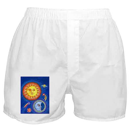 Sun and Moon Boxer Shorts