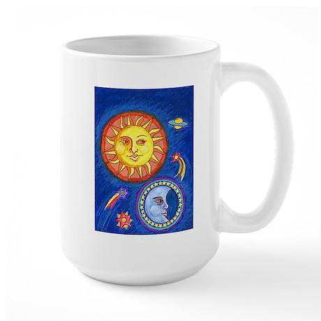 Sun and Moon Large Mug