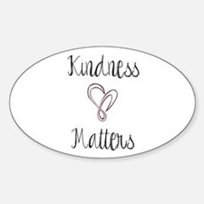 Kindness Matters Heart Decal