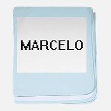 Marcelo Digital Name Design baby blanket