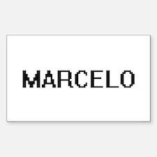 Marcelo Digital Name Design Decal