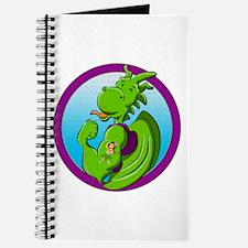 Dragon with the hula dancer tattoo Journal