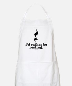 I'd Rather Be Resting Apron