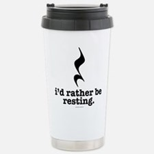 I'd Rather Be Resting Travel Mug