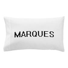 Marques Digital Name Design Pillow Case