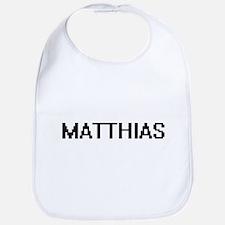 Matthias Digital Name Design Bib