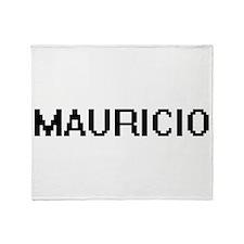 Mauricio Digital Name Design Throw Blanket