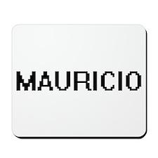 Mauricio Digital Name Design Mousepad