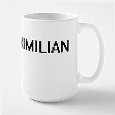 Maximilian Digital Name Design Mugs