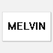 Melvin Digital Name Design Decal