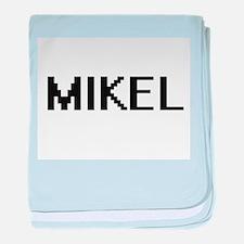 Mikel Digital Name Design baby blanket