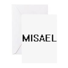 Misael Digital Name Design Greeting Cards