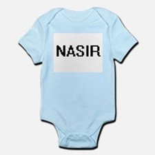 Nasir Digital Name Design Body Suit