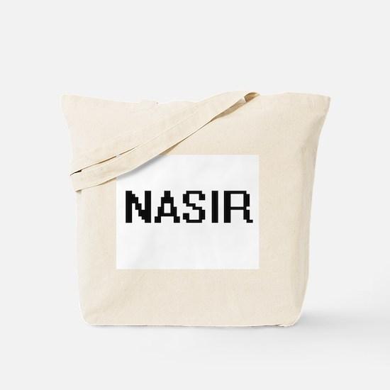 Nasir Digital Name Design Tote Bag