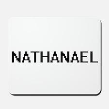 Nathanael Digital Name Design Mousepad