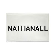 Nathanael Digital Name Design Magnets