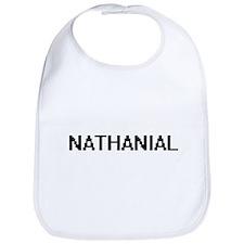 Nathanial Digital Name Design Bib