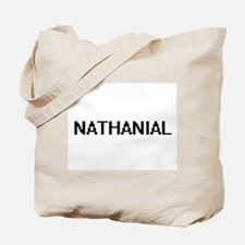 Nathanial Digital Name Design Tote Bag
