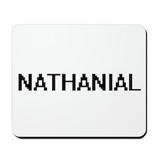 Nathanial Digital Name Design Mousepad