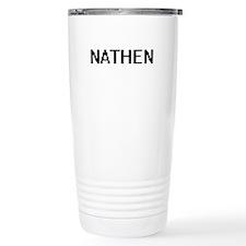 Nathen Digital Name Des Travel Mug