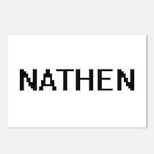 Nathen Digital Name Desig Postcards (Package of 8)