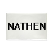 Nathen Digital Name Design Magnets