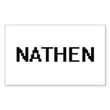 Nathen Digital Name Design Decal