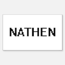 Nathen Digital Name Design Decal