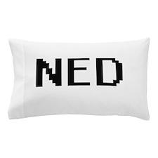 Ned Digital Name Design Pillow Case