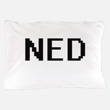 Ned Digital Name Design Pillow Case