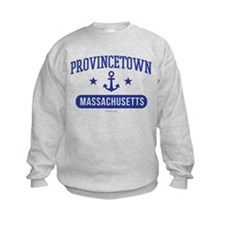 Provincetown Massachusetts Athleti Sweatshirt