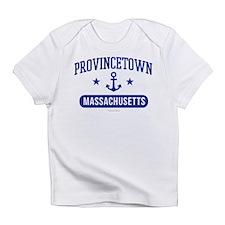 Provincetown Massachusetts Athletic Infant T-Shirt