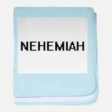Nehemiah Digital Name Design baby blanket