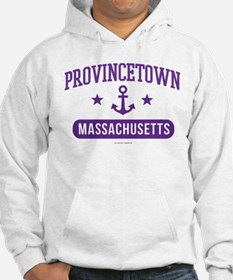 Provincetown Massachusetts Athle Jumper Hoody