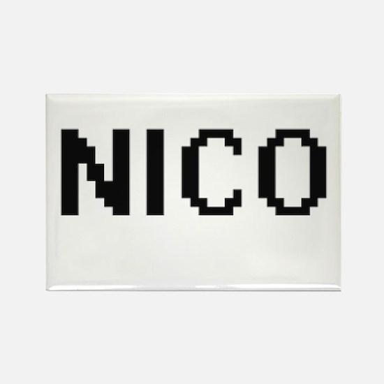 Nico Digital Name Design Magnets