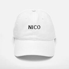 Nico Digital Name Design Baseball Baseball Cap