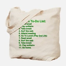 To-Do List: Tote Bag
