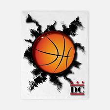 Basketball DC logo Twin Duvet