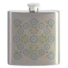 Flower Patch Flask
