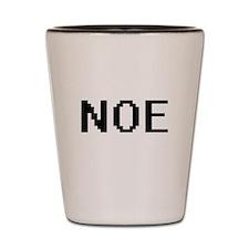 Noe Digital Name Design Shot Glass