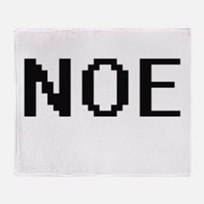Noe Digital Name Design Throw Blanket