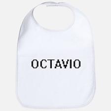 Octavio Digital Name Design Bib