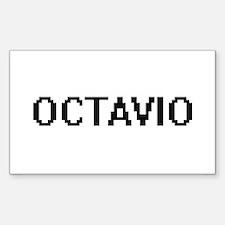 Octavio Digital Name Design Decal