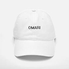 Omari Digital Name Design Baseball Baseball Cap