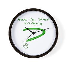 Have You Met Wilbury? Wall Clock
