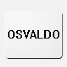 Osvaldo Digital Name Design Mousepad
