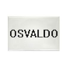 Osvaldo Digital Name Design Magnets