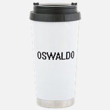 Oswaldo Digital Name De Stainless Steel Travel Mug