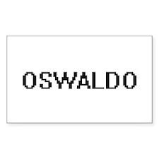 Oswaldo Digital Name Design Decal
